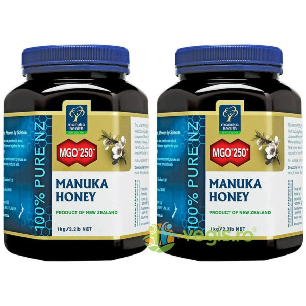Miere De Manuka (MGO 250+) 1kg Pachet 1+1
