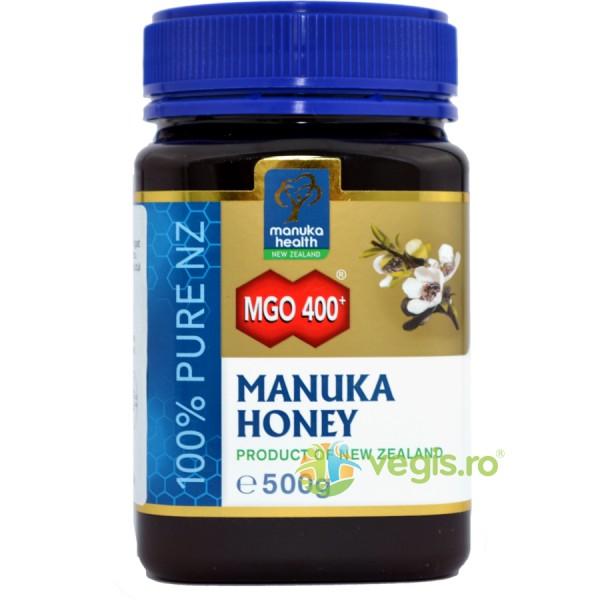 Miere de Manuka (MGO 400+) 500g