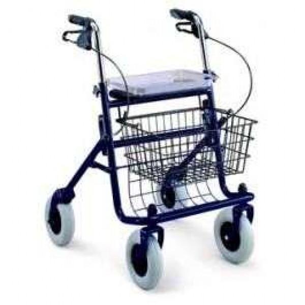 Rolator 4 roti-scaun si cos-MRP490