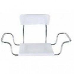 Scaun pentru vana din plastic cu spatar - MRS 925