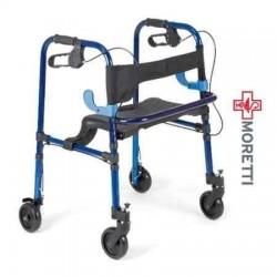 Cadru de mers 4 roti mobile si scaun MRP751