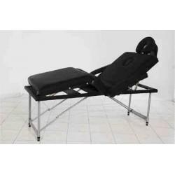 Masa masaj 4 sectiuni aluminiu