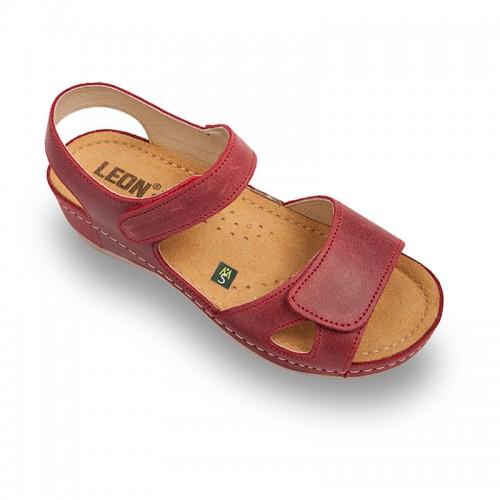 Sandale medicale 935-Rosu