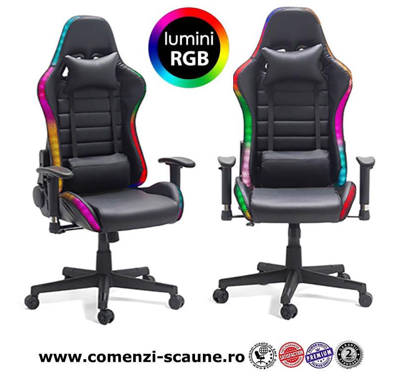 Scaune-de-gaming-iluminate-cu-LED-RGB-control-wireless